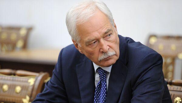 Стални представник Русије у Контакт групи за Донбас Борис Гризлов - Sputnik Србија
