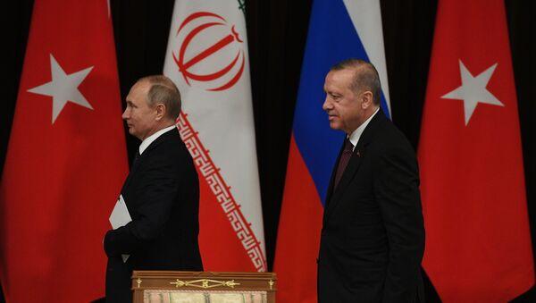 Посета турског председника Реџепа Тајипа Ердогана Сочију - Sputnik Србија