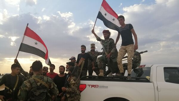 Сиријска армија заузела војни аеродром Табка - Sputnik Србија