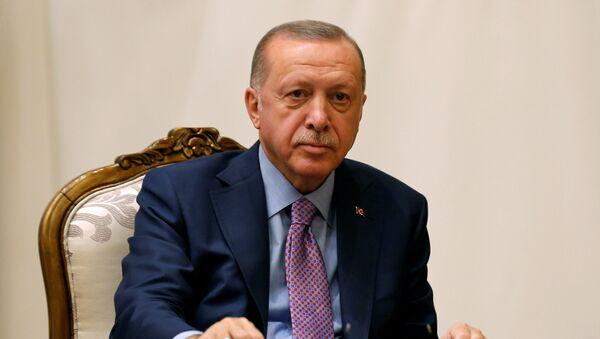 Турски председник Реџеп Тајип Ердоган - Sputnik Србија