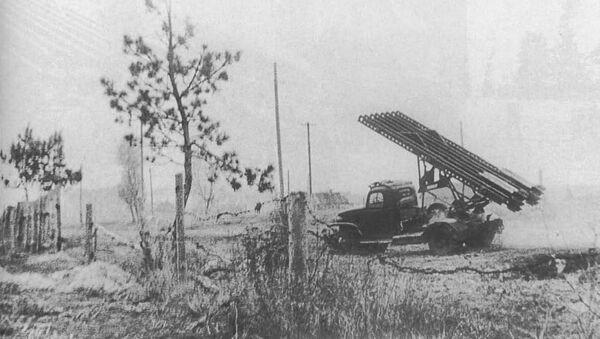 "Ruski raketni sistem BM-13 ""Kaćuša"" - Sputnik Srbija"