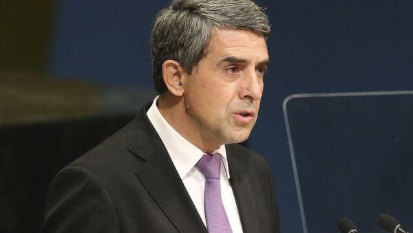 Bivši predsednik Bugarske Rosen Plevnelijev - Sputnik Srbija