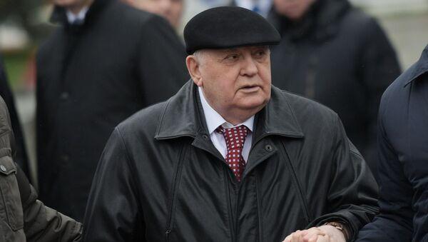 Бивши председник СССР Михаил Горбачов - Sputnik Србија