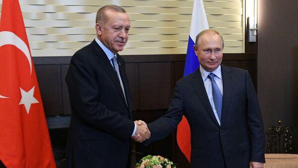 Putin i Erdogan - Sputnik Srbija