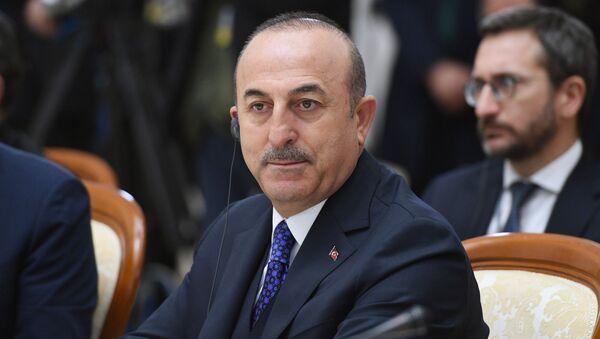 Министар спољних послова Турске Мевлут Чавушоглу - Sputnik Србија