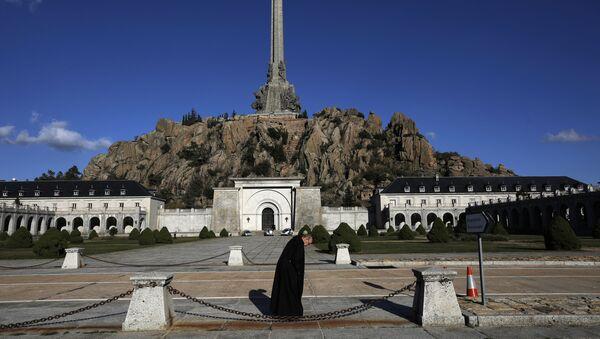 Mauzolej u kompleksu Doline palih van Madrida u kojem je sahranjen Francisko Franko - Sputnik Srbija