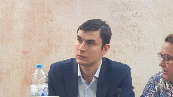 Ruski pisac Sergej Šargunov, gost 64. Međunarodnog beogradskog sajma knjiga - Sputnik Srbija