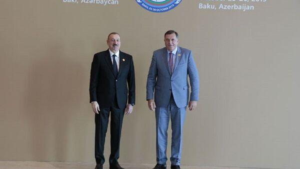 Ilham Alijev i Milorad Dodik - Sputnik Srbija