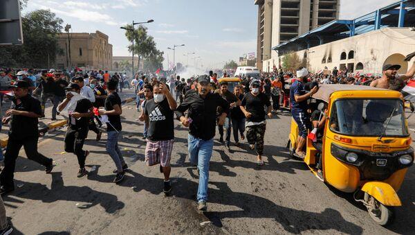 Протести у Ираку - Sputnik Србија