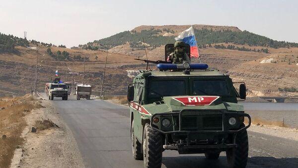 Војна полиција Русије у Сирији   - Sputnik Србија