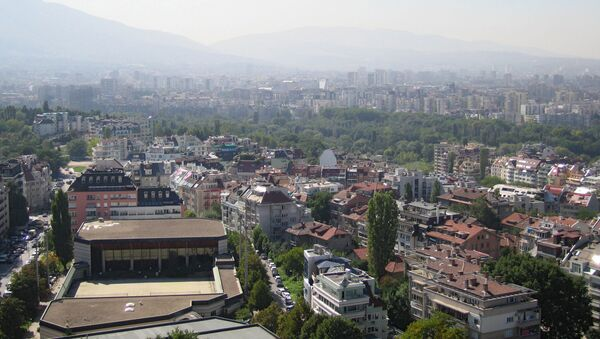 Поглед на главни град Бугарске, Софију - Sputnik Србија