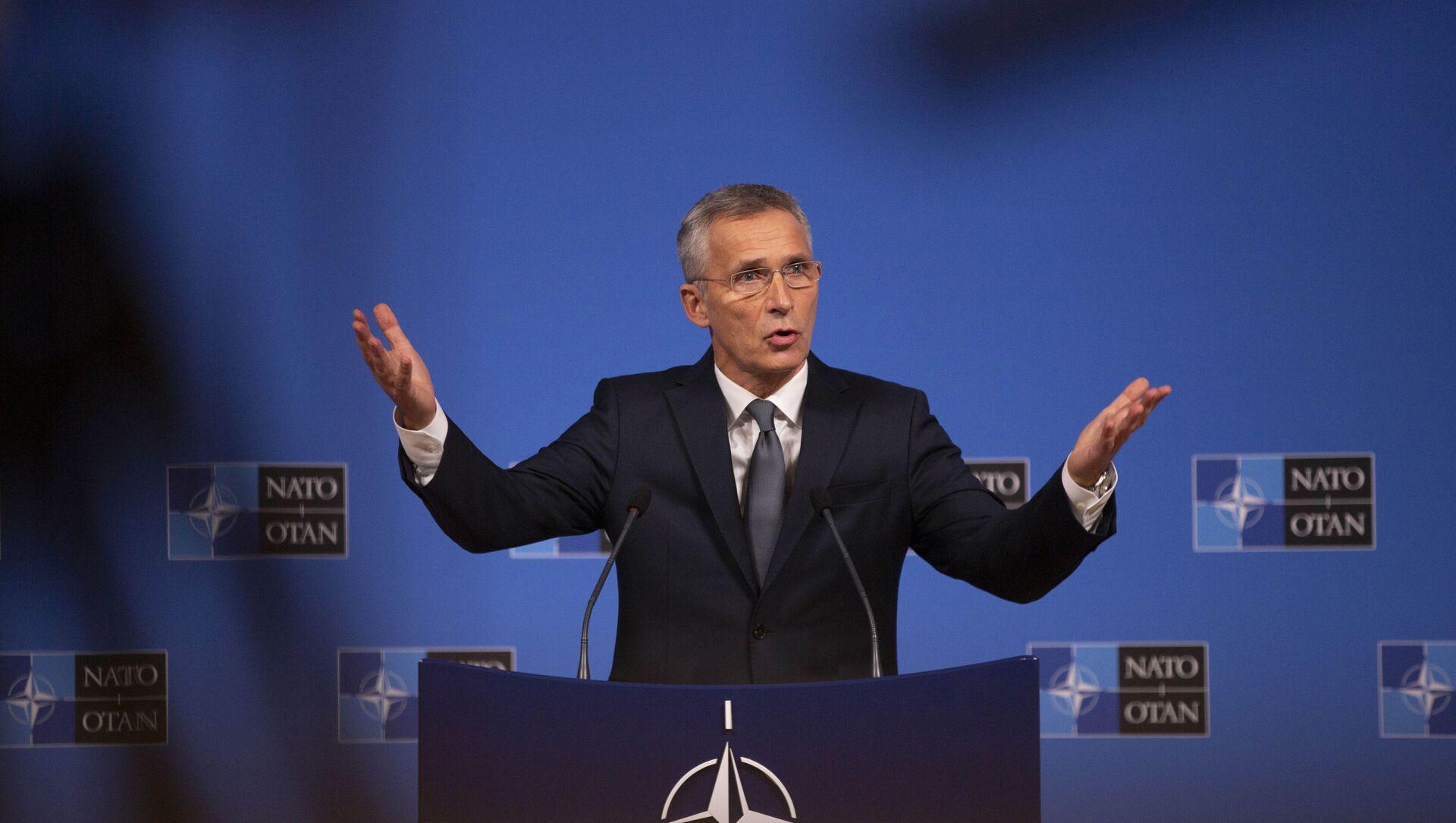 Generalni sekretar NATO-a Jens Stoltenberg - Sputnik Srbija, 1920, 14.06.2021