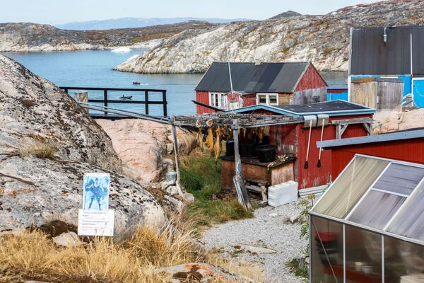 Локалне куће у граду Илулисат на острву Гренланд. - Sputnik Србија