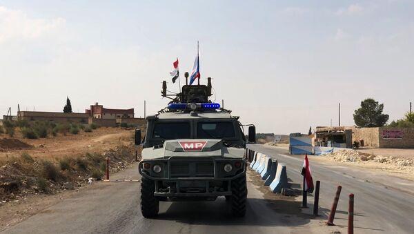 Ruska vojna policija na severu Sirije - Sputnik Srbija