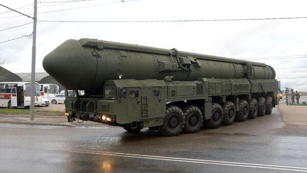Interkontinentačna balistička raketa Jars - Sputnik Srbija