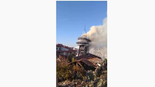 Požar u Ankari - Sputnik Srbija