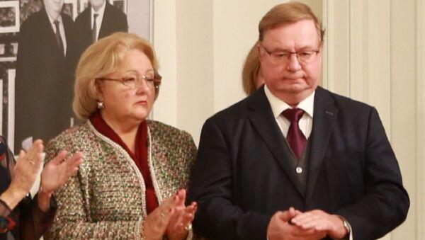 Ирина Примакова и Сергеј Степашин - Sputnik Србија