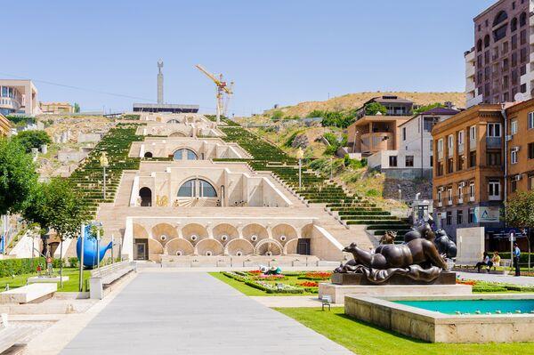Jerevanska kaskada, Jermenija. - Sputnik Srbija