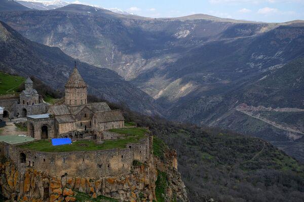 Tatevski monastir u Sunikskoj oblasti Jermenije. - Sputnik Srbija