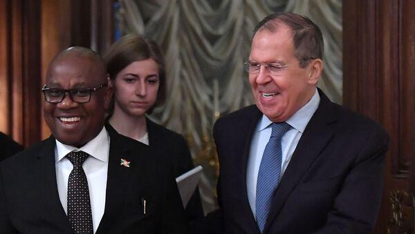Министри спољних послова Русије и Бурундија  - Sputnik Србија