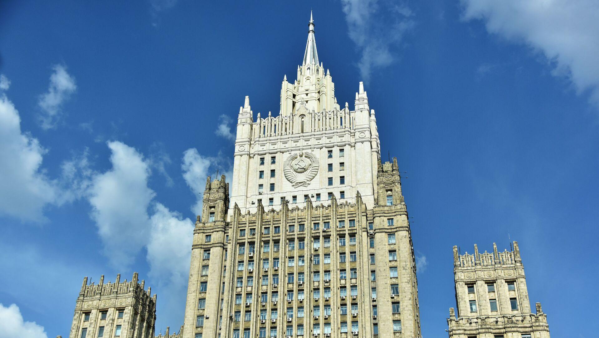 Зграда Министарства спољних послова Русије у Москви - Sputnik Србија, 1920, 02.03.2021