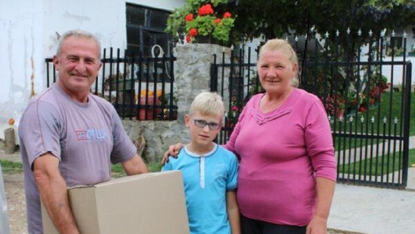 Завршена мисија: 300 домова на КиМ добило хуманитарну помоћ - Sputnik Србија