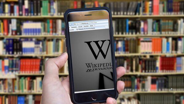 Википедија, библиотека - Sputnik Србија