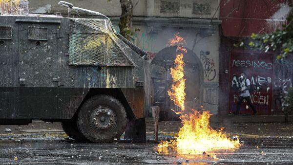 Protest u Santjagu - Sputnik Srbija