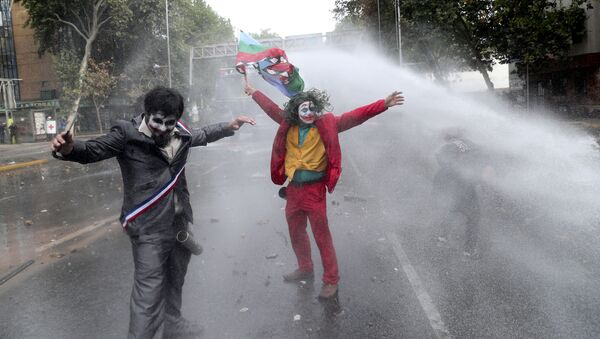 Протест у Чилеу - Sputnik Србија