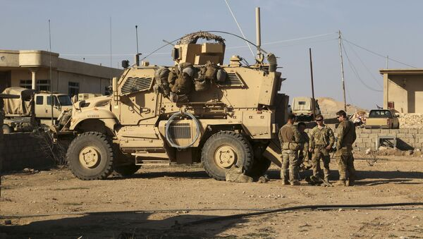 Američka vojska u Iraku - Sputnik Srbija