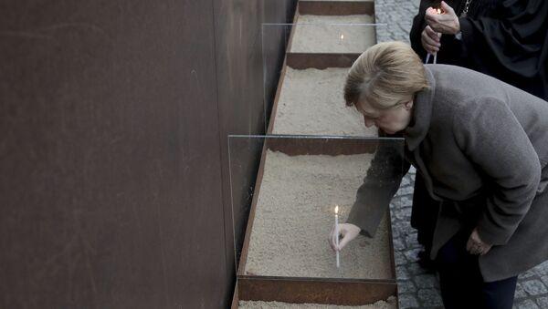 Godišnjica pada Berlinskog zida, nemačka kancelarka Angela Merkel - Sputnik Srbija