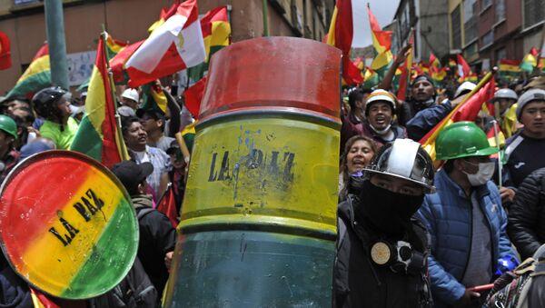 Protesti u Boliviji - Sputnik Srbija