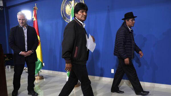 Predsednik Bolivije Evo Morales - Sputnik Srbija