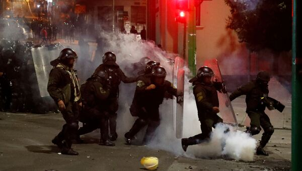 Sukobi na ulicama La Paza - Sputnik Srbija