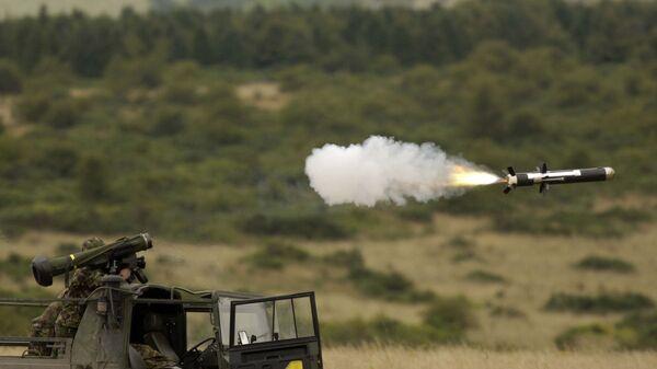 Lansiranje protivtenkovskog vođenog raketnog sistema Džavelin - Sputnik Srbija