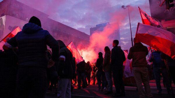 Marš desnice u Poljskoj - Sputnik Srbija