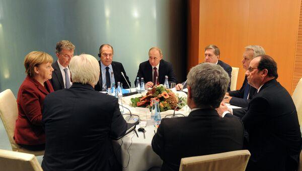 Sastanak lidera normandijske četvorke - Sputnik Srbija