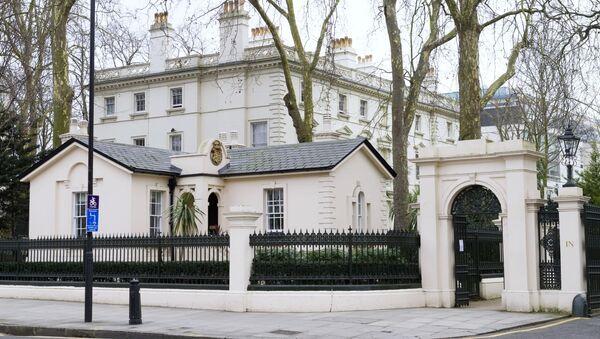 Ambasada Rusije u Velikoj Britaniji - Sputnik Srbija