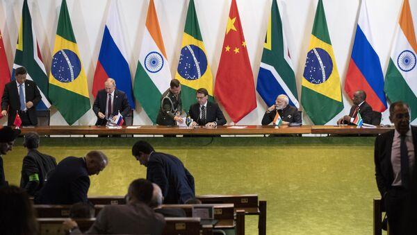 Lideri BRIKS-a na samitu u Brazilu - Sputnik Srbija