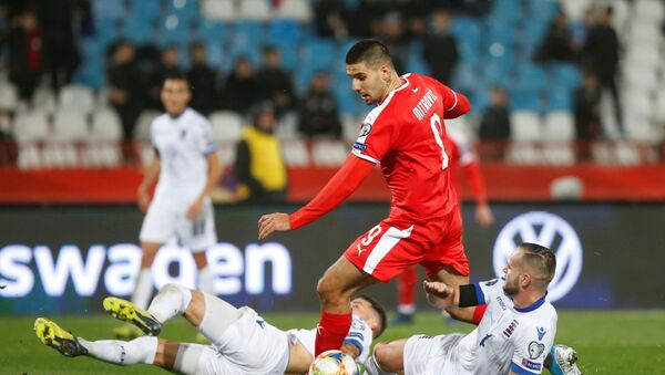 Fudbalska utakmica između Srbije i Lukemburga - Sputnik Srbija