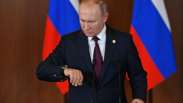 Vladimir Putin na samitu BRIKS-a u Braziliji - Sputnik Srbija