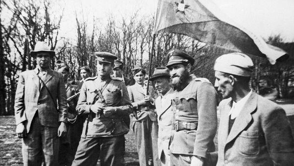 Штаб 2. Чехословачке бригаде Штефанек за време Другог светског рата - Sputnik Србија