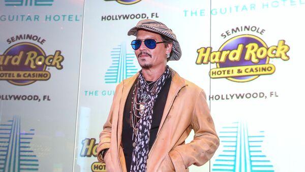 """Амерички глумац Џони Деп на великом отварању """"Гитар хотела"""" на Флориди - Sputnik Србија"""