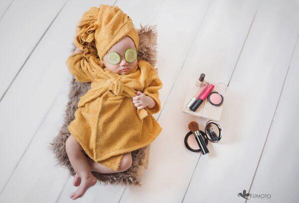 Родитељи ове бебе одгајиће праву лепотицу. - Sputnik Србија