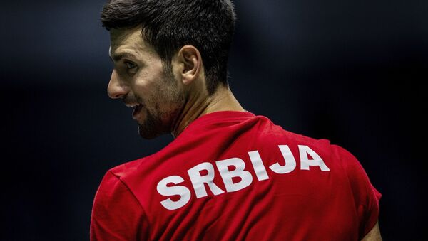 Novak Đoković - Sputnik Srbija