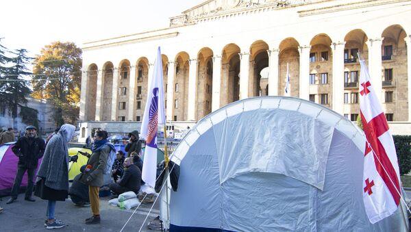 Протести у Тбилисију - Sputnik Србија