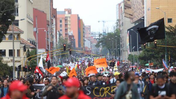 Протести у Колумбији - Sputnik Србија