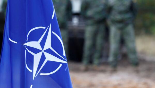 Застава НАТО-а на војним вежбама алијансе у Летонији - Sputnik Србија