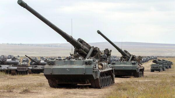 самоходни нуклеарни топ «Пион» (2С7М Малка) - Sputnik Србија
