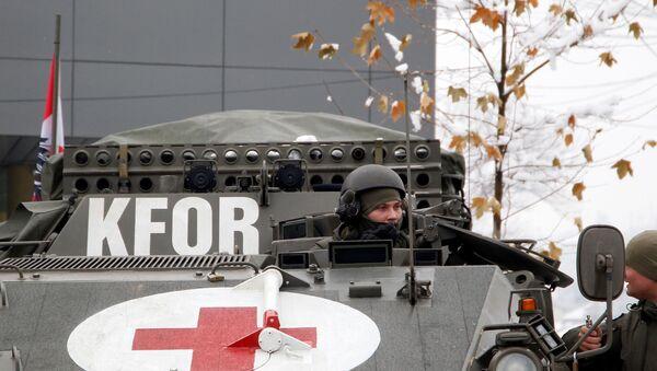 Vojnici NATO-a u misiji na Kosovu - Sputnik Srbija